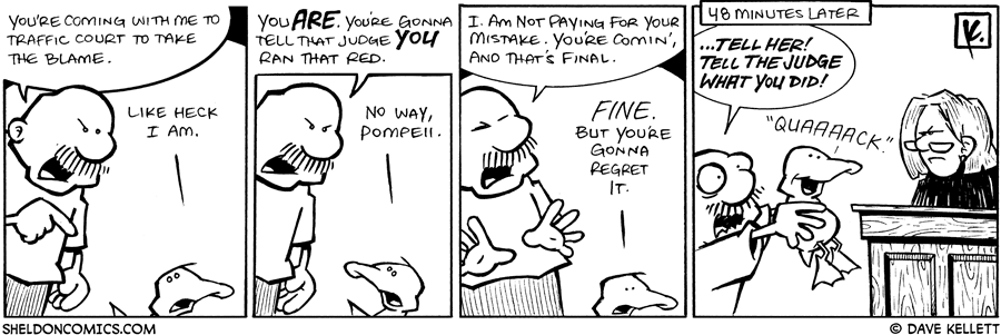 strip for March / 5 / 2009 - What does Gramp make Arthur do?