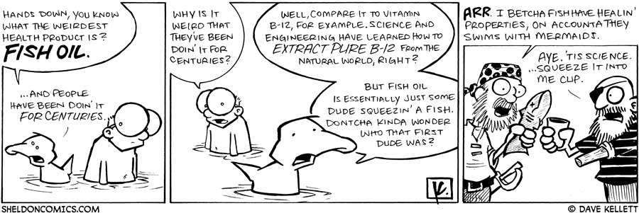 strip for March / 21 / 2009 - What is the weirdest health product?