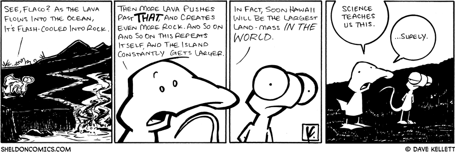 strip for March / 27 / 2009 - Do you see this Flaco?