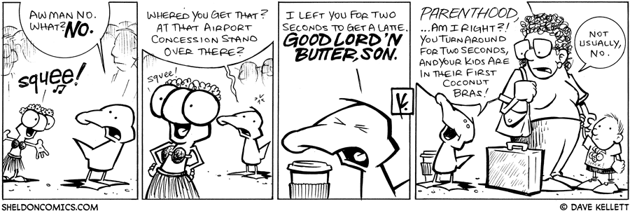 strip for April / 4 / 2009 - What did Flaco get?