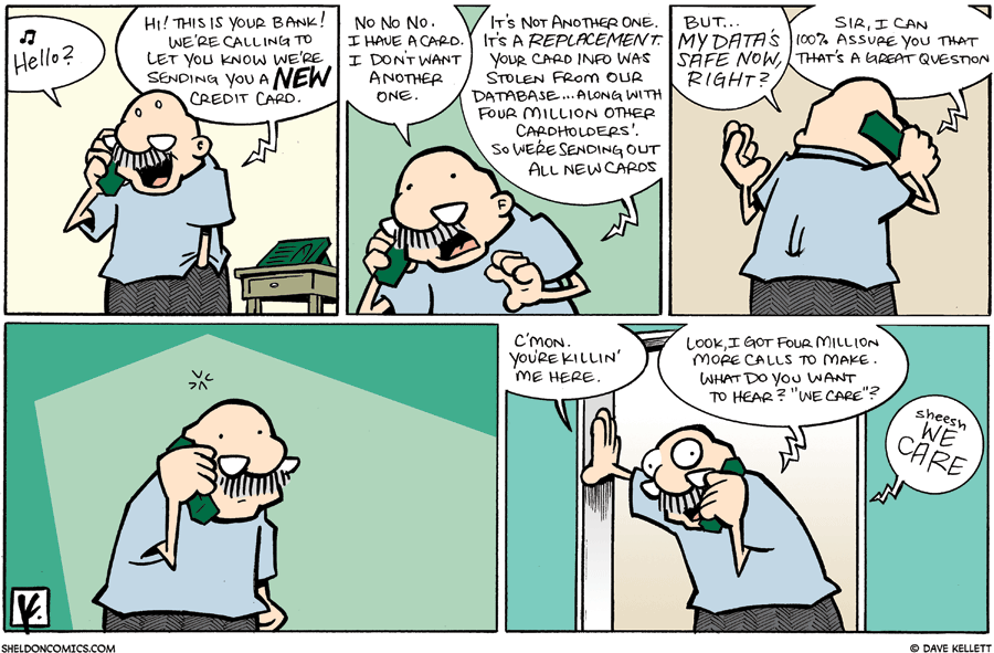 strip for April / 26 / 2009 - Who is Gramp talking to on the phone?