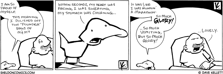 strip for May / 4 / 2009 - Why is Arthur proud of himself?