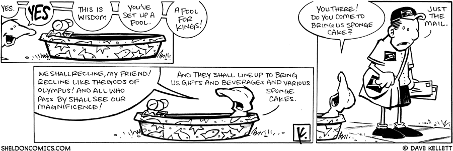 strip for May / 11 / 2009 - What has Flaco done?