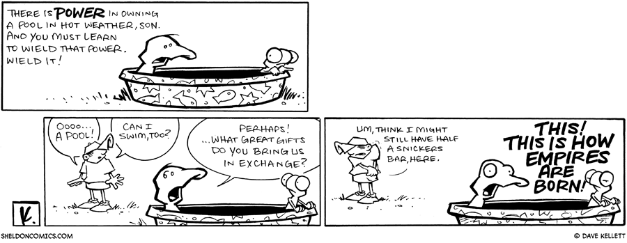 strip for May / 12 / 2009 - What is there power in owning?