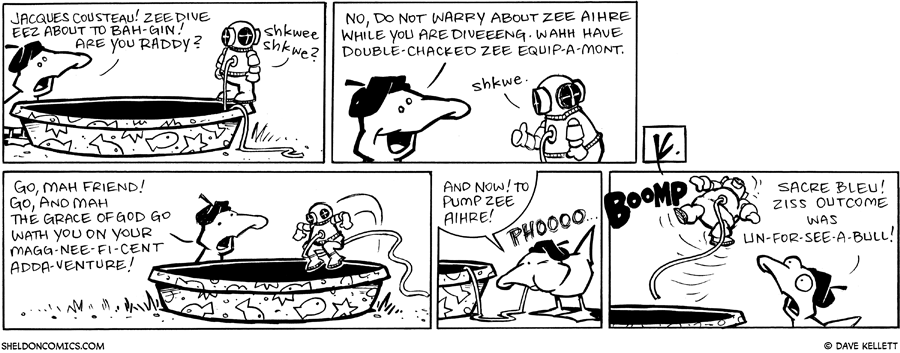 strip for May / 15 / 2009 - Are you ready?