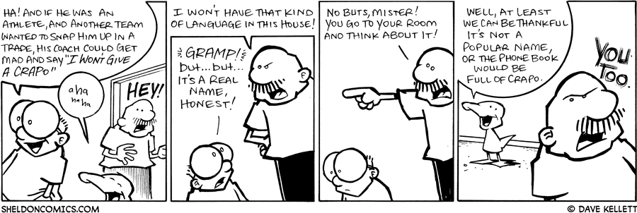 strip for June / 4 / 2009 - What does Gramp overhear?