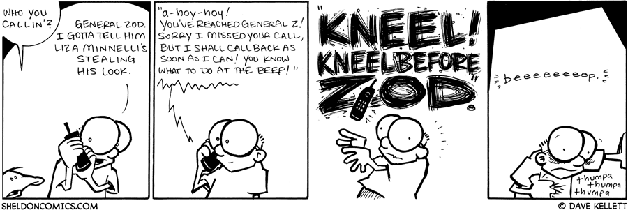strip for June / 9 / 2009 - Who you callin'?
