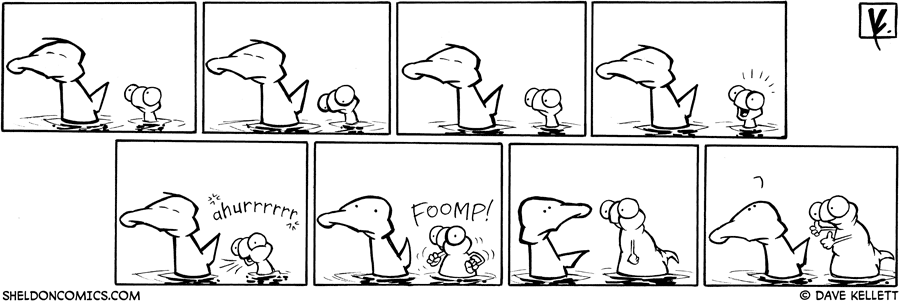 strip for June / 23 / 2009 - Flaco decides to...