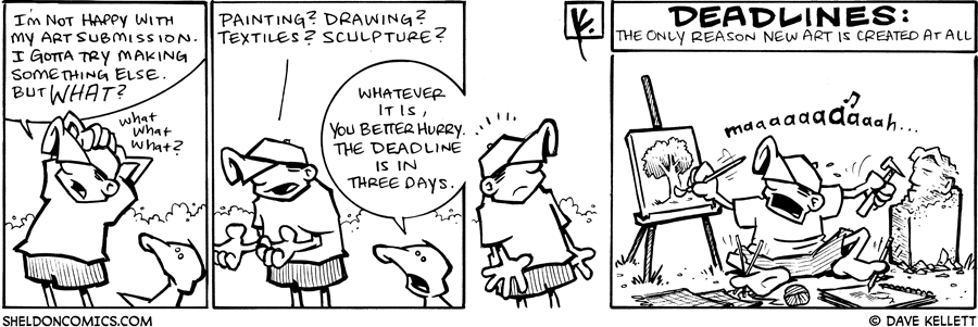 strip for July / 11 / 2009 - What else will Dante make?
