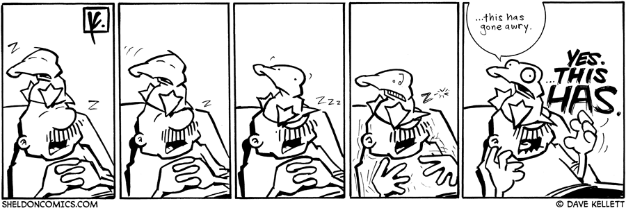 strip for July / 20 / 2009 - Arthur and Gramp are...