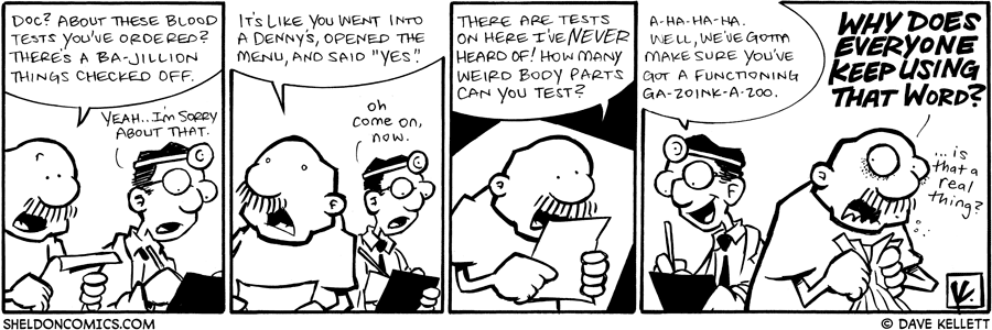 strip for July / 24 / 2009 - How many blood tests did you order?