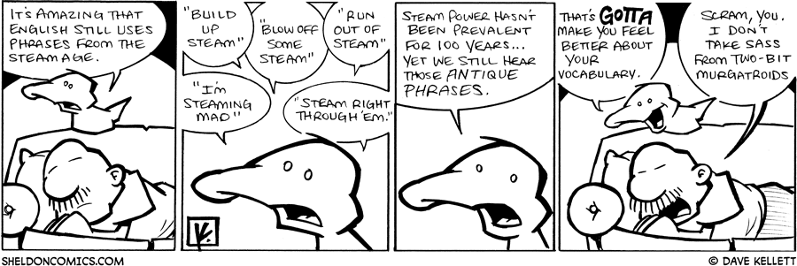 strip for September / 2 / 2009 - It's amazing that...