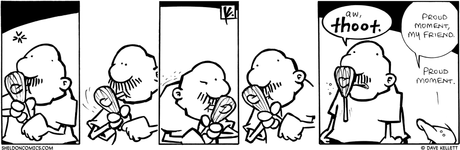 strip for September / 15 / 2009 - What happened to Gramp?