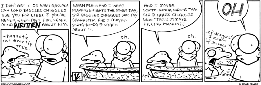 strip for September / 22 / 2009 - Why is Arthur being sued for Libel?