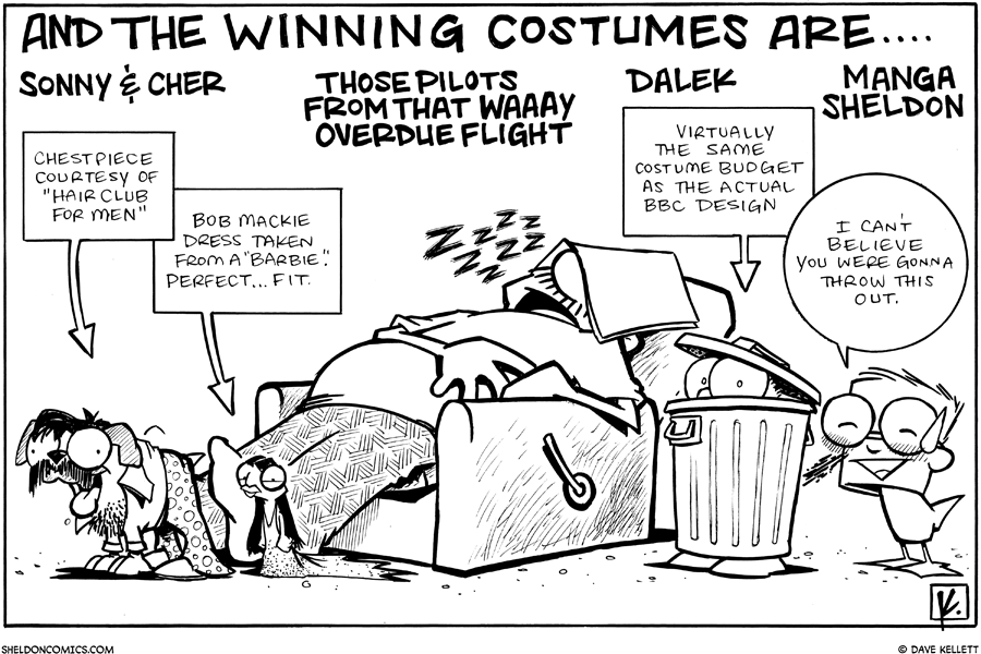 strip for October / 31 / 2009 - What were the winning costumes for 2009?
