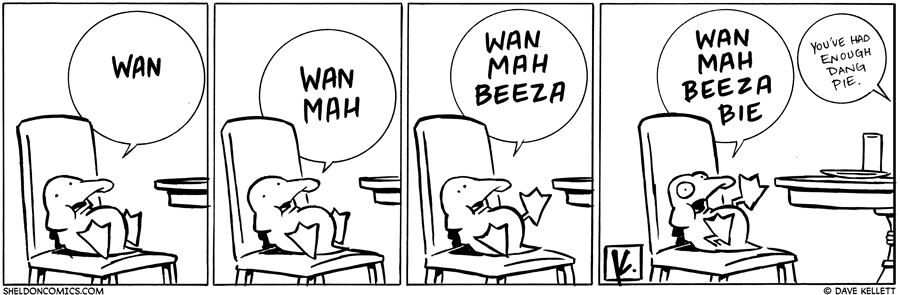 strip for November / 27 / 2009 - Why is Arthur sitting in a chair?