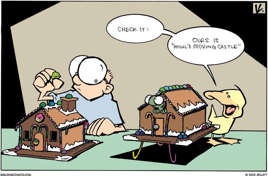 strip for December / 6 / 2009 - What are Sheldon and Arthur making?