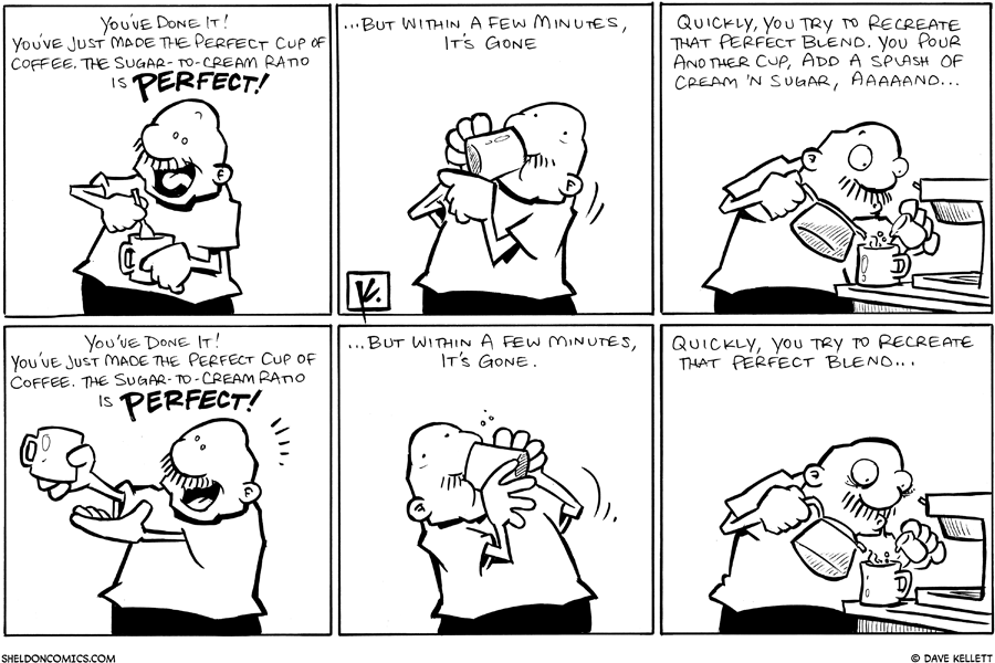 strip for December / 11 / 2009 - What has Gramp done?