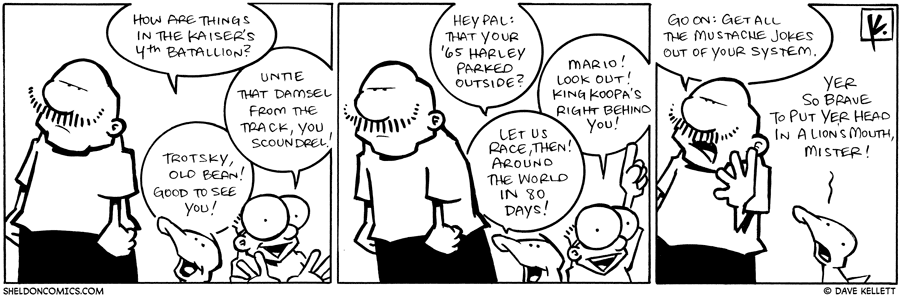 strip for December / 16 / 2009 - How are things in the Kaiser's 4th Batallion?