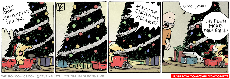 strip for December / 23 / 2009 - Next Stop is...