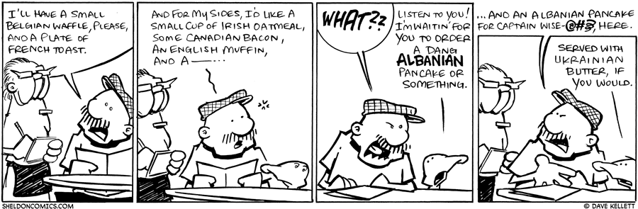 strip for January / 22 / 2010 - What does Gramp order?