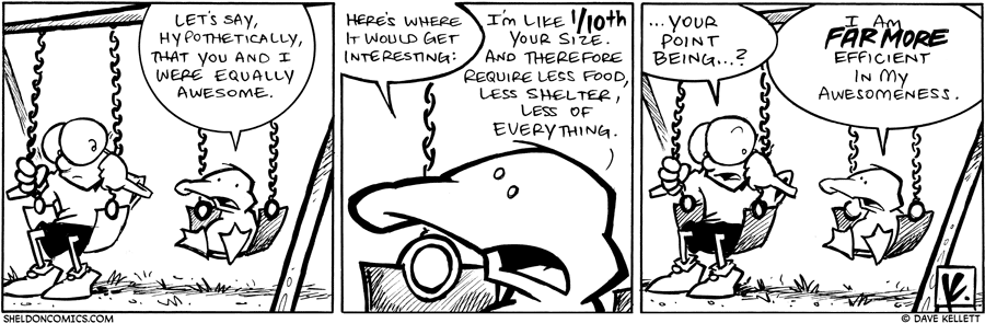 strip for February / 2 / 2010 - Let's say, hypothetically, that...