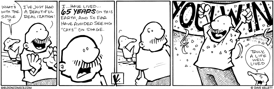strip for February / 3 / 2010 - What's with the smile?