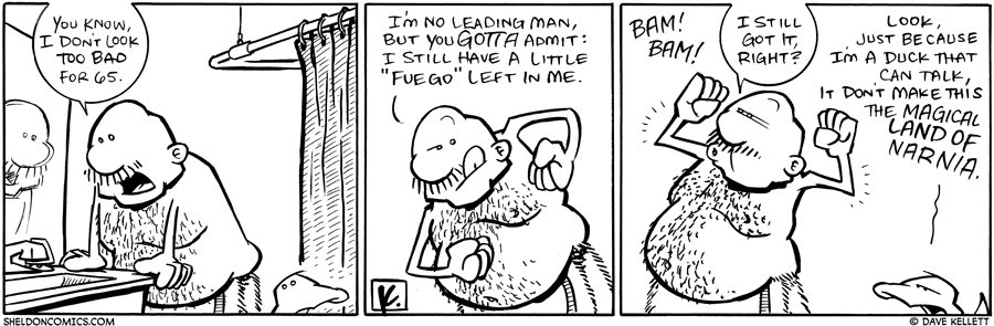 strip for February / 8 / 2010 - What does Gramp think of himself?