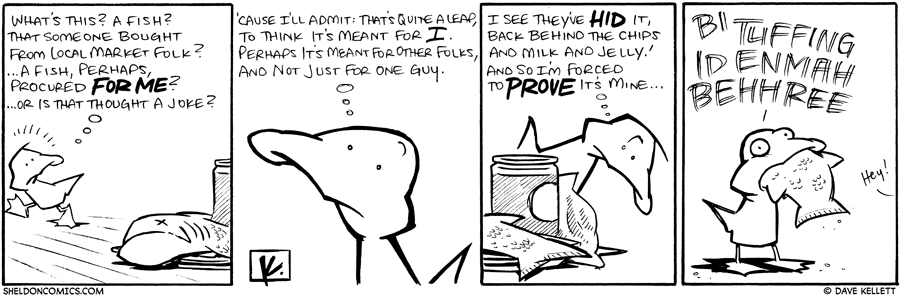 strip for February / 9 / 2010 - What's this? A Fish?