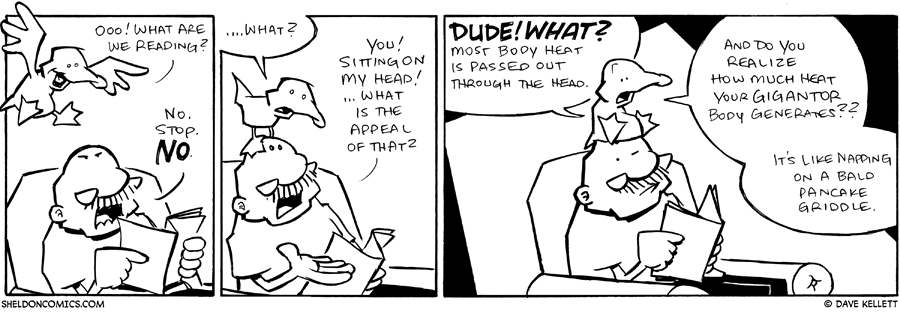 strip for February / 10 / 2010 - What are we reading?