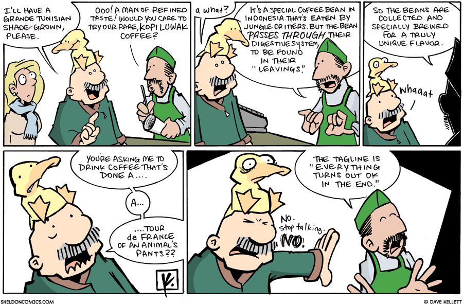 strip for February / 14 / 2010 - Where are Gramp and Arthur?