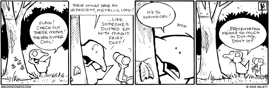 strip for February / 16 / 2010 - Flaco! Check out these...