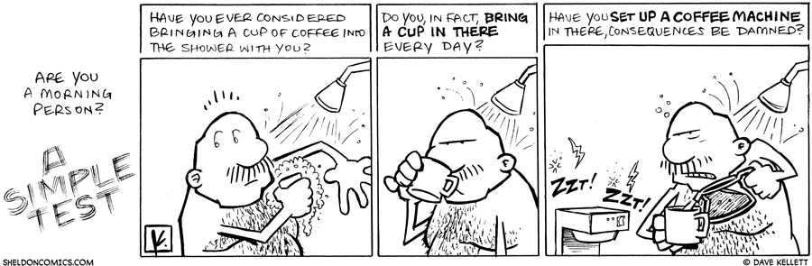 strip for March / 3 / 2010 - Are you a morning person?