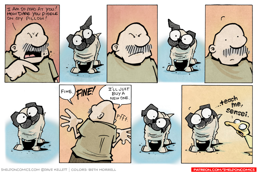 strip for March / 12 / 2010 - Who is Gramp so mad at?