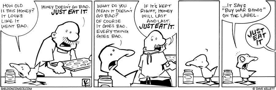 strip for March / 17 / 2010 - How old is this honey?