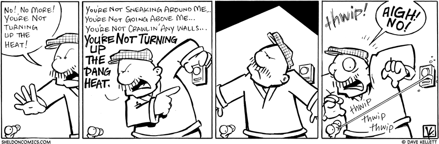 strip for March / 24 / 2010 - Gramp faces...