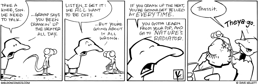 strip for March / 25 / 2010 - What advice does Arthur give Flaco?