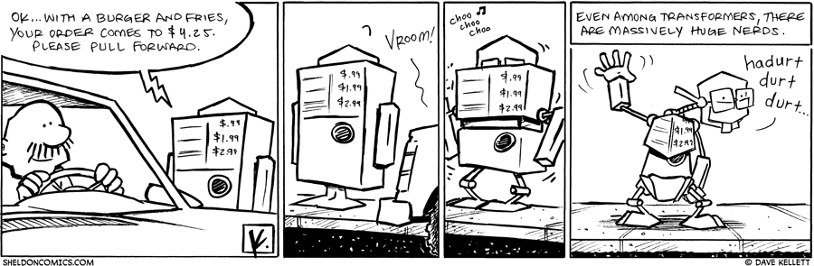 strip for April / 20 / 2010 - Gramp orders fast food and...