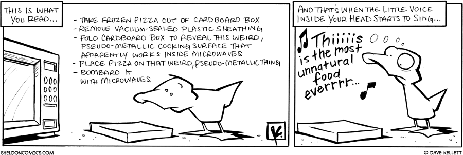 strip for June / 15 / 2010 - You want to microwave food and...
