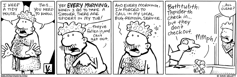 strip for June / 24 / 2010 - What does Gramp have to do?