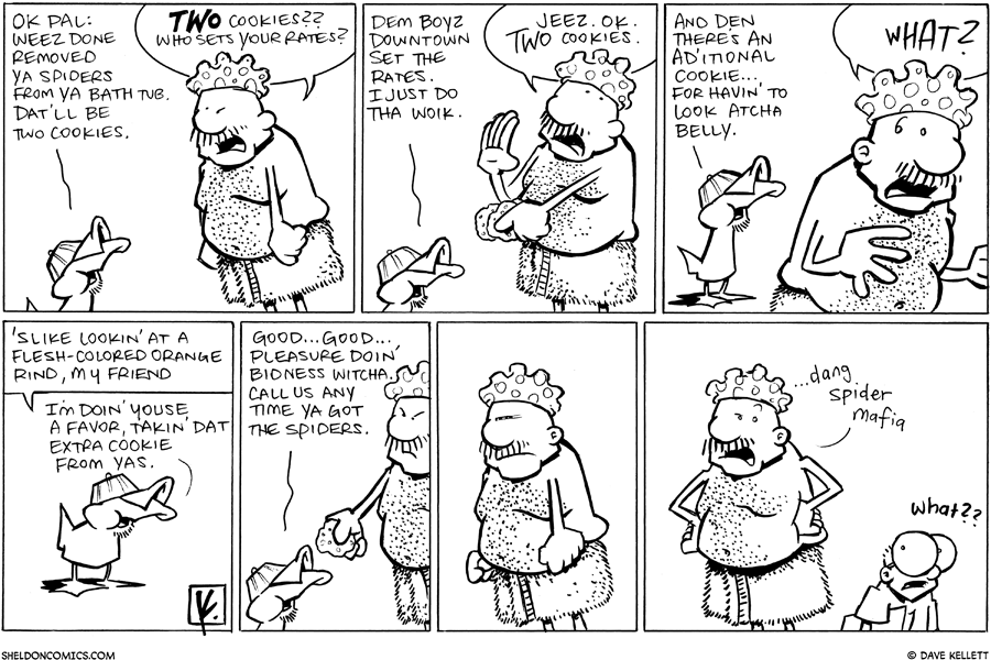 strip for June / 25 / 2010 - What does Gramp have to pay?