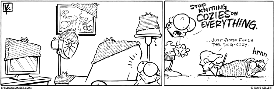 strip for July / 15 / 2010 - What does Sheldon find all over the house?