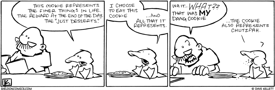 strip for July / 19 / 2010 - What does this cookie represent?