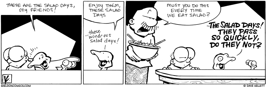 strip for July / 22 / 2010 - What days are these?