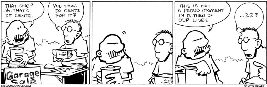 strip for August / 19 / 2010 - That one costs...