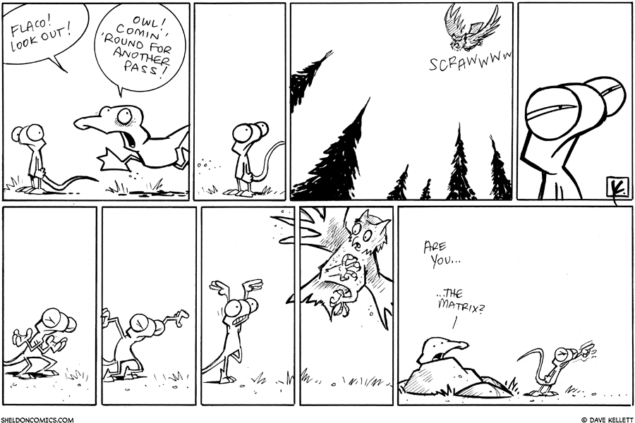strip for August / 26 / 2010 - What's coming around for another pass?