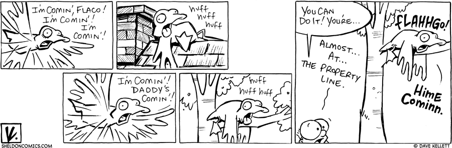 strip for September / 2 / 2010 - Arthur flies off and...