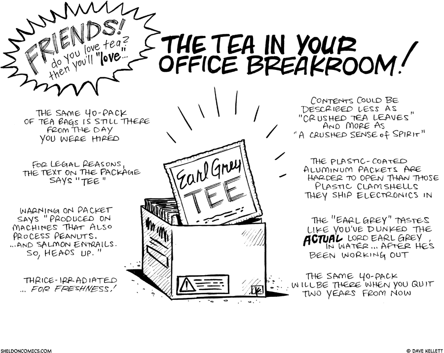 strip for September / 16 / 2010 - Do you love tea?