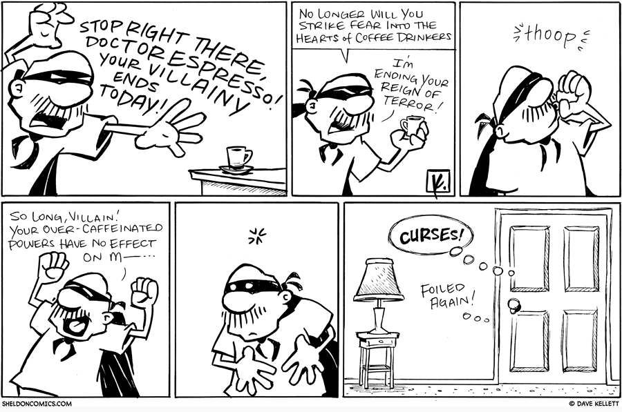 strip for September / 17 / 2010 - Is that a masked Gramp?