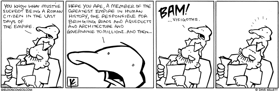 strip for September / 20 / 2010 - You know what must've sucked?